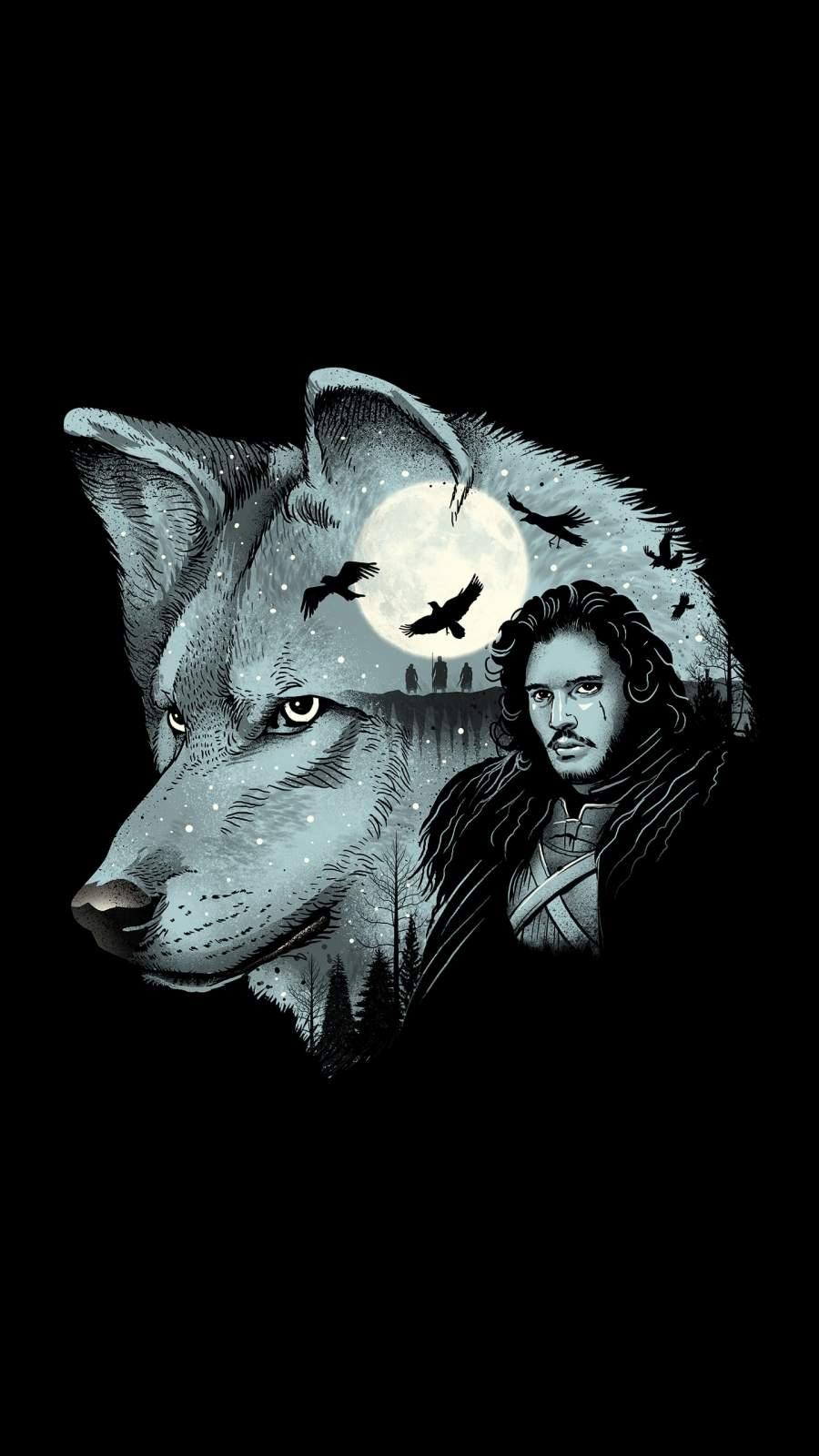 Jon Snow iPhone Wallpaper