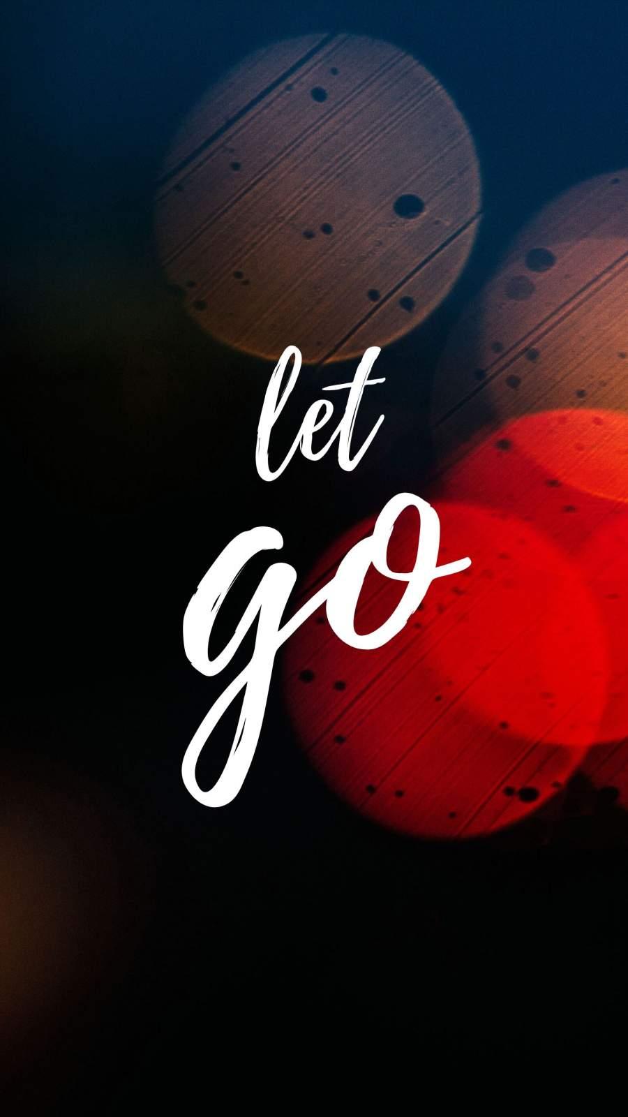Let Go iPhone Wallpaper
