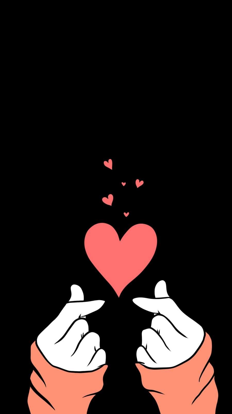 Love Heart iPhone Wallpaper