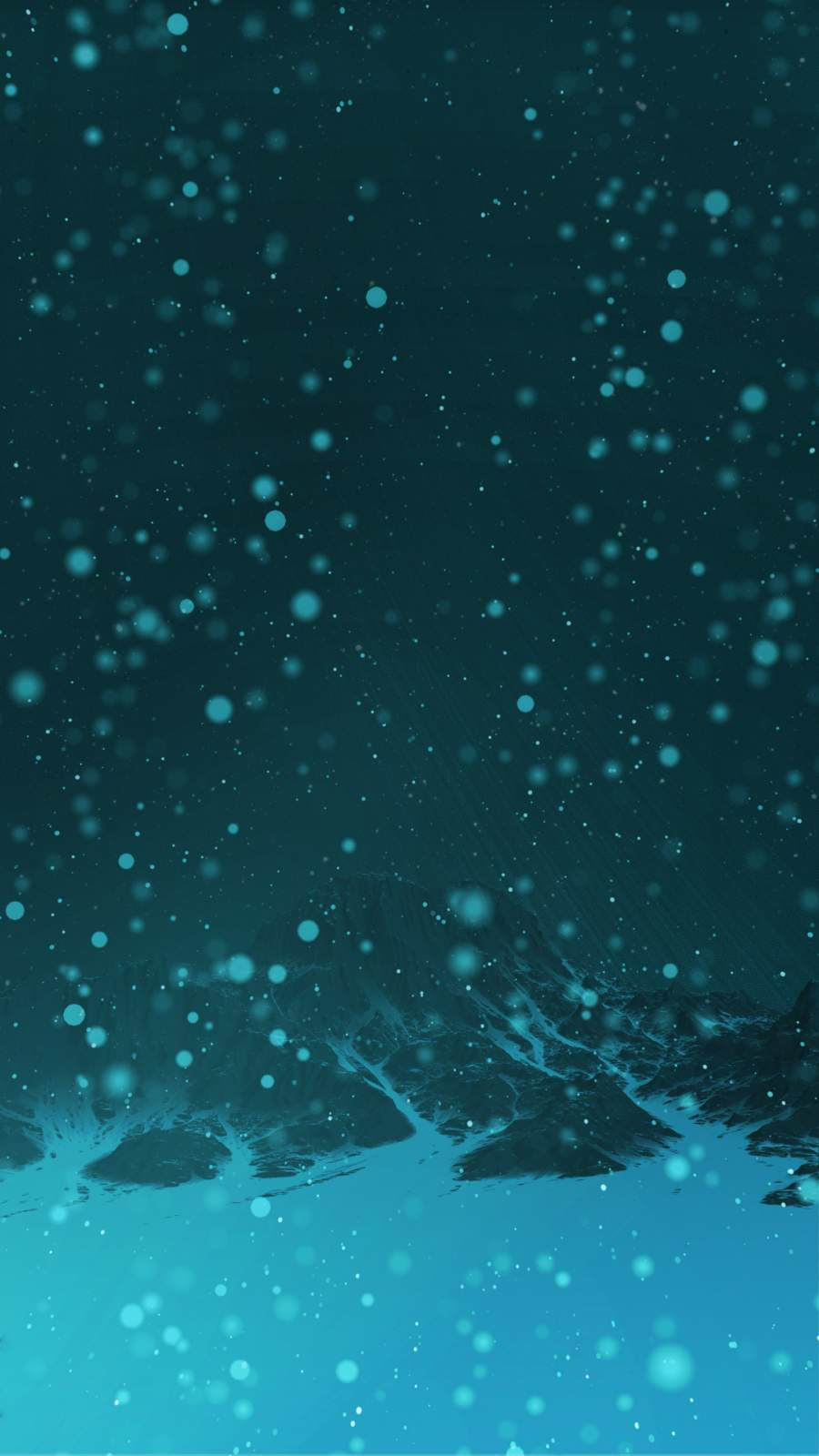 Mount Snow Peak iPhone Wallpaper