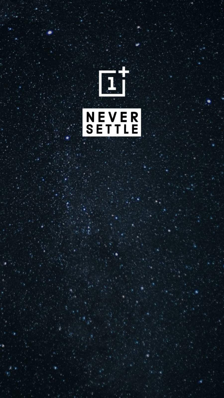 Never Settle iPhone Wallpaper