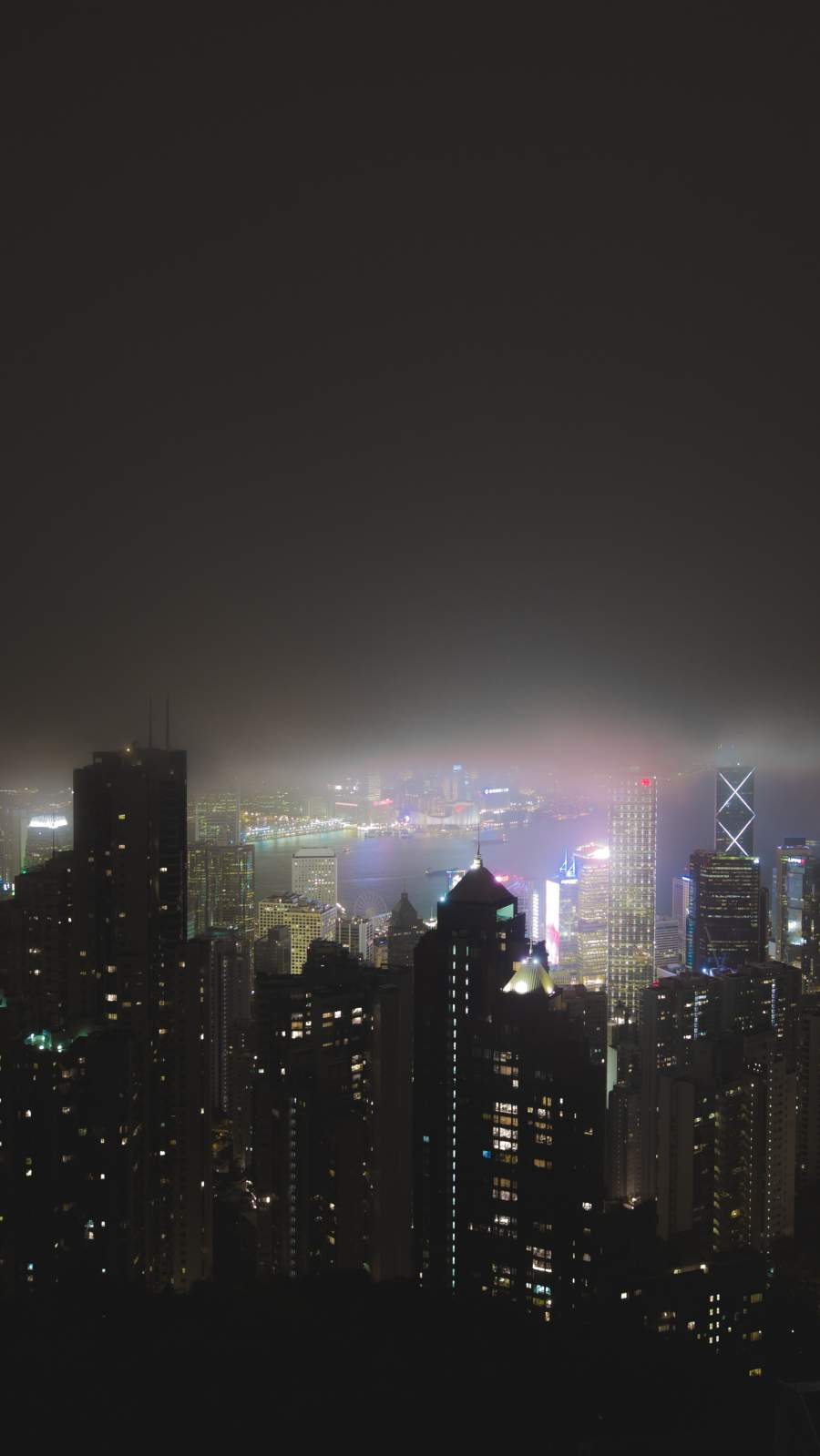 Night City iPhone Wallpaper