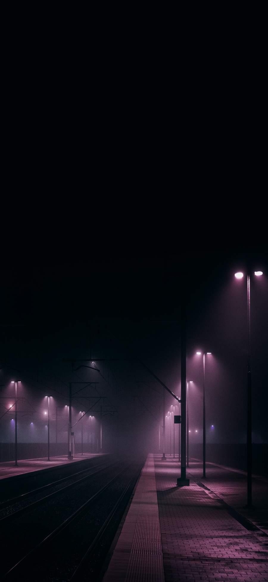 Night Lights iPhone Wallpaper