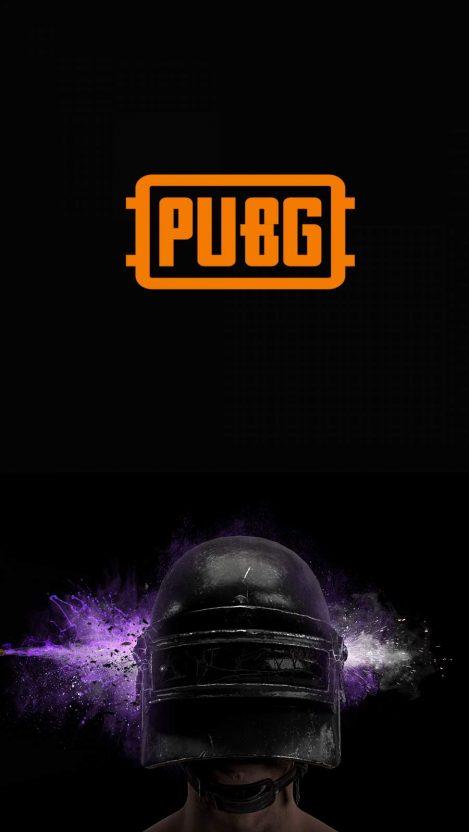 PUBG Game Helmet iPhone Wallpaper