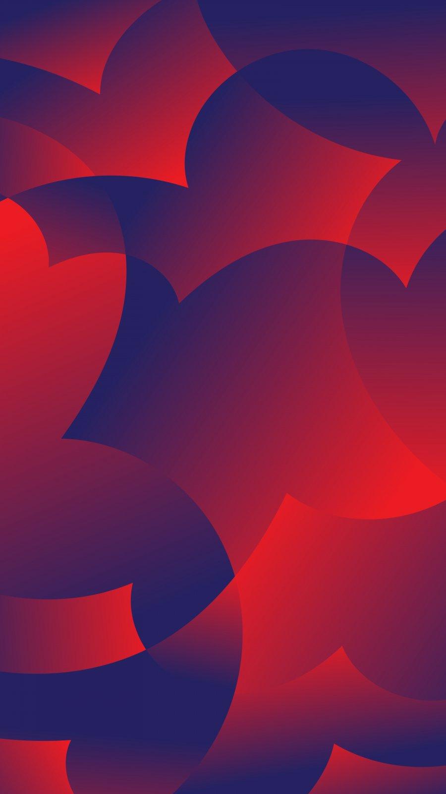 Red Artwork iPhone Wallpaper