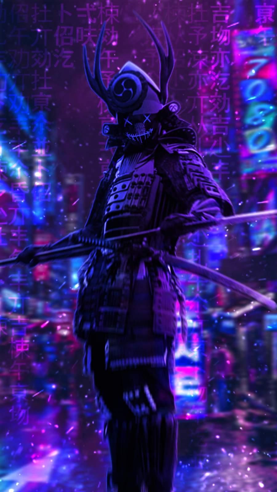 Samurai iPhone Wallpaper