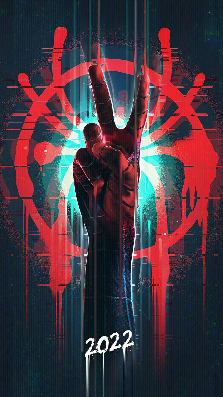 Spiderman 2022 iPhone Wallpaper