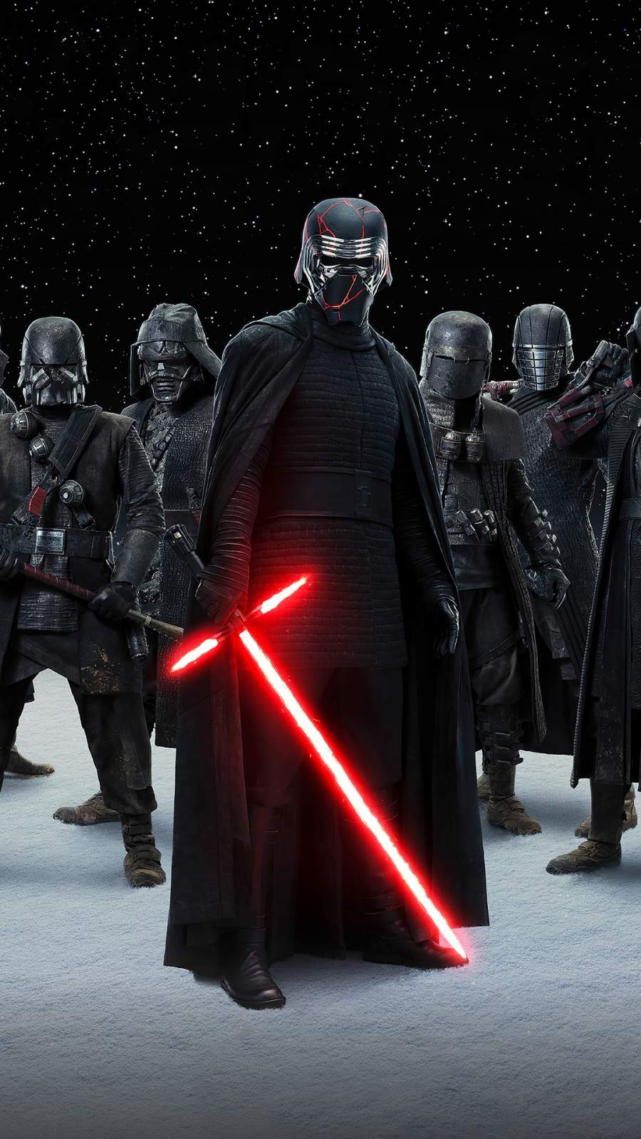 Star Wars Kylo Ren Army iPhone Wallpaper