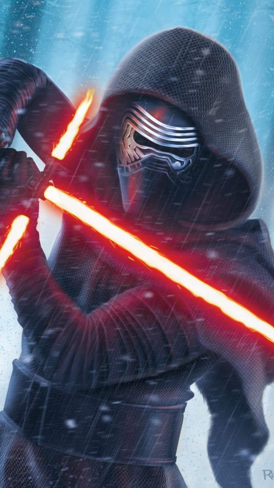 Star Wars Kylo Ren iPhone Wallpaper