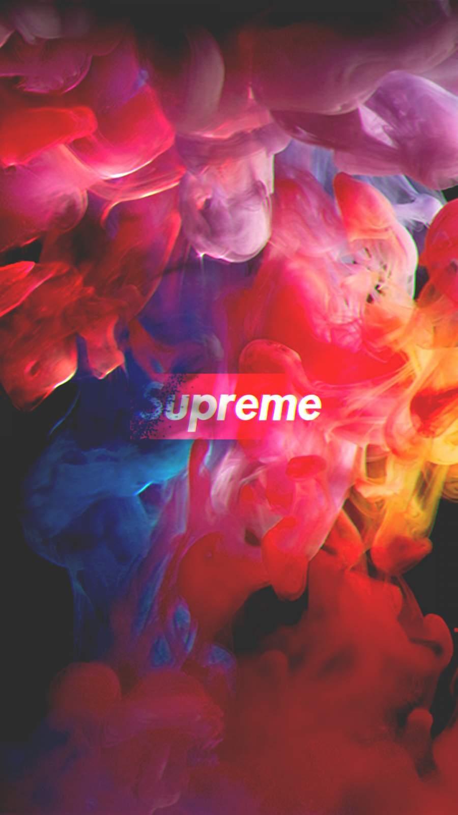 Supreme HD iPhone Wallpaper