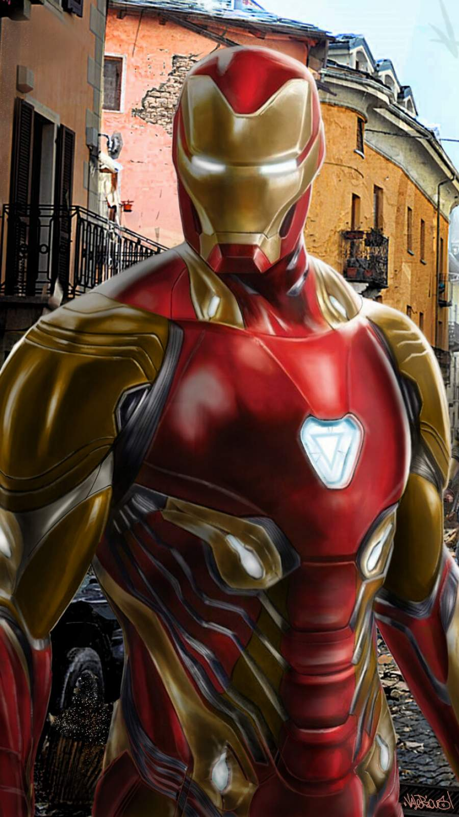 The Iron Man Armor iPhone Wallpaper