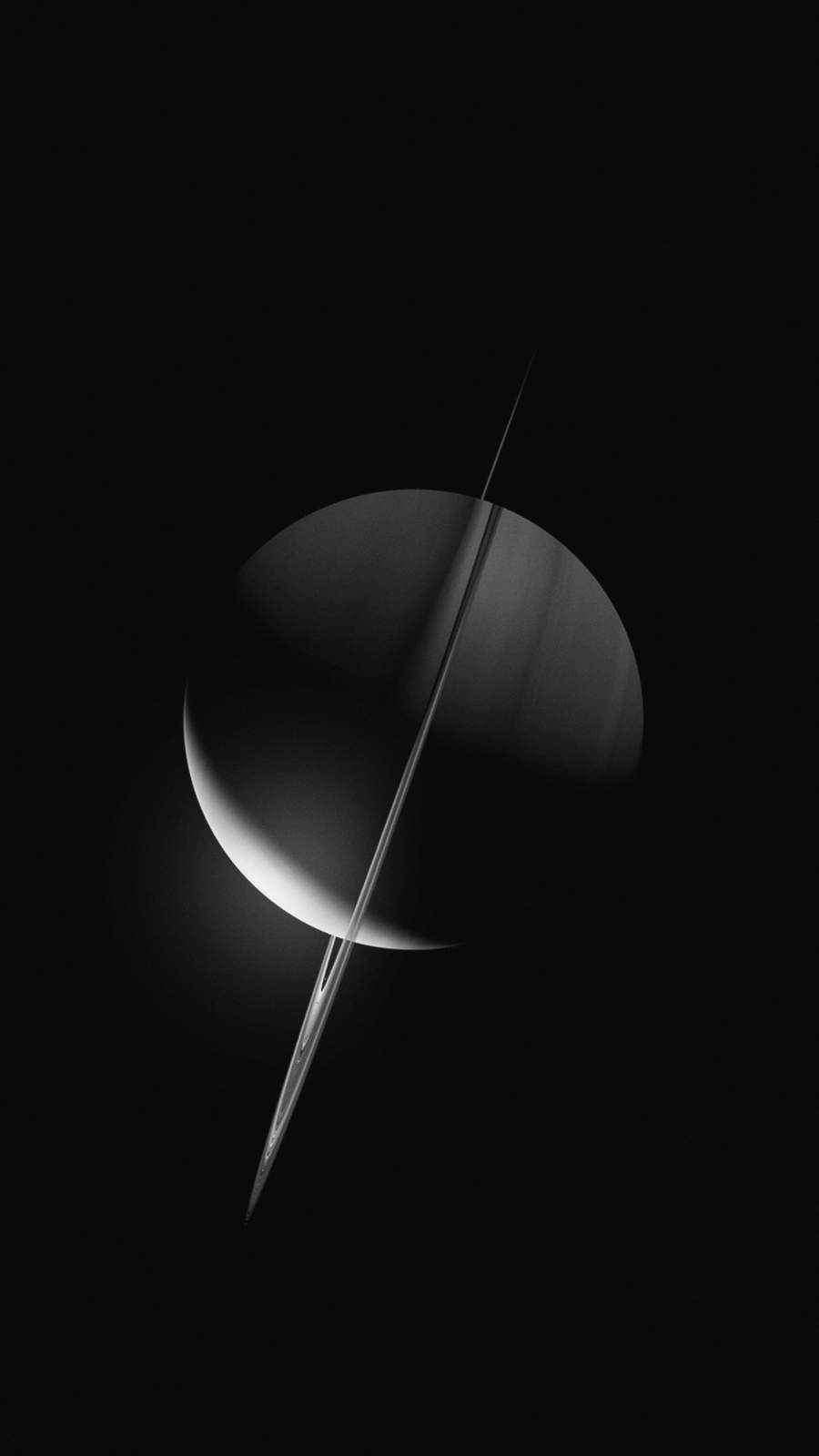The Saturn iPhone Wallpaper
