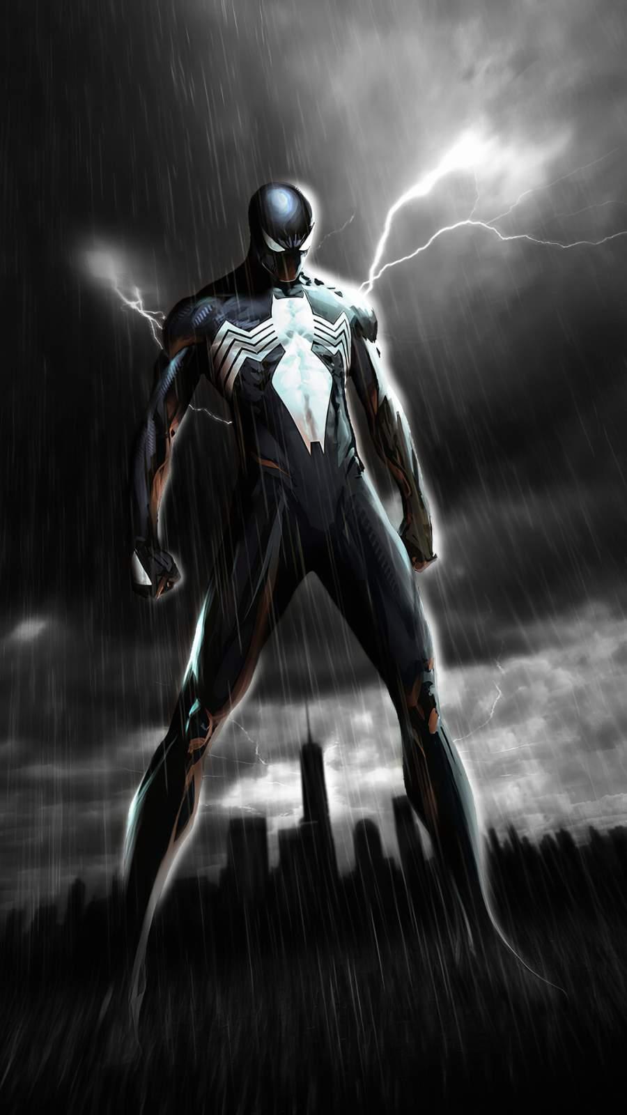 Venom Spiderman iPhone Wallpaper