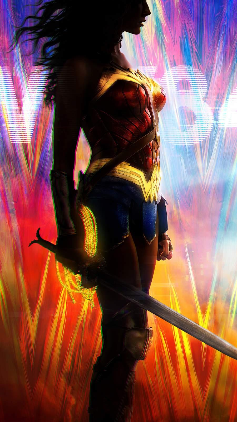 Wonder Woman 1984 Movie iPhone Wallpaper