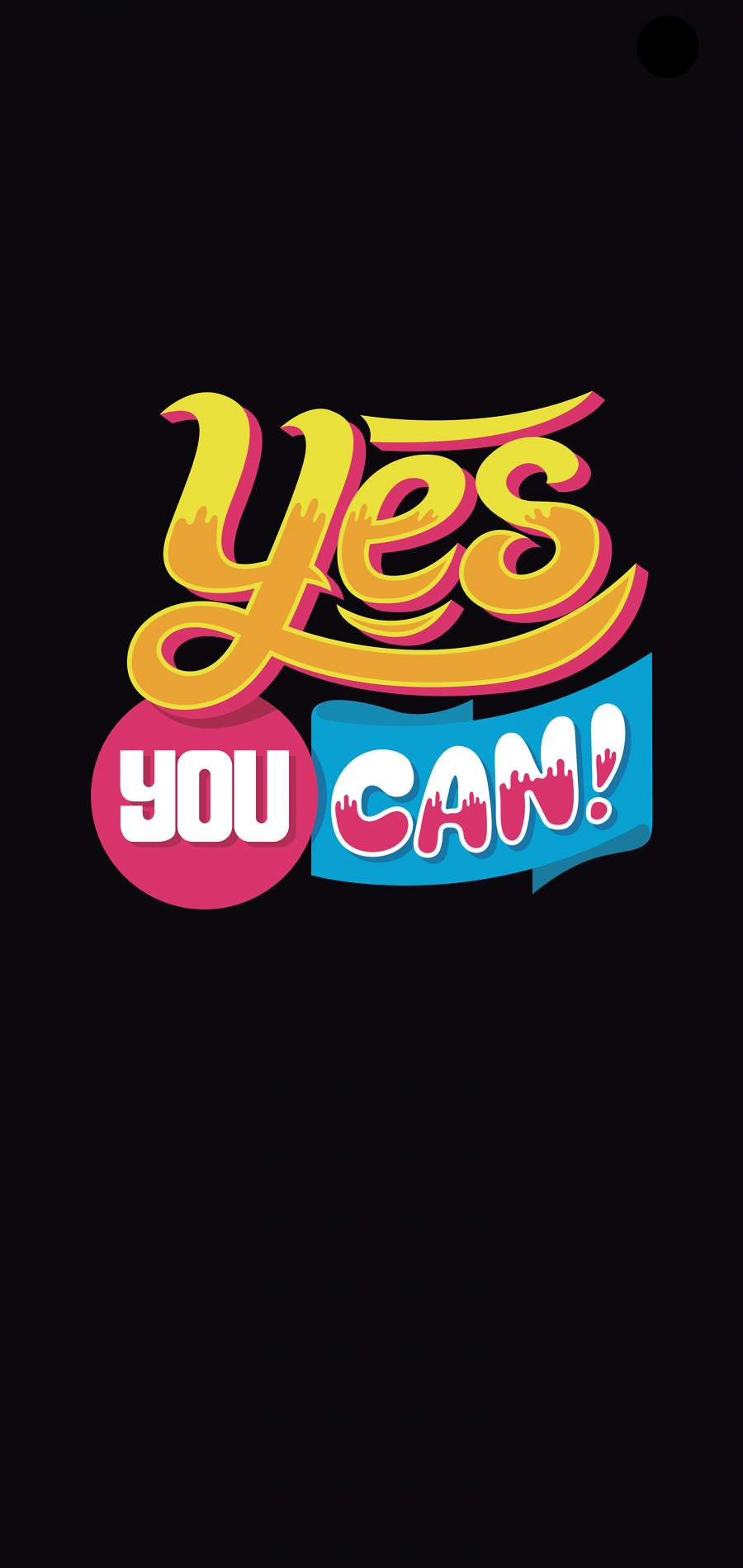 Yes You Can iPhone Wallpaper