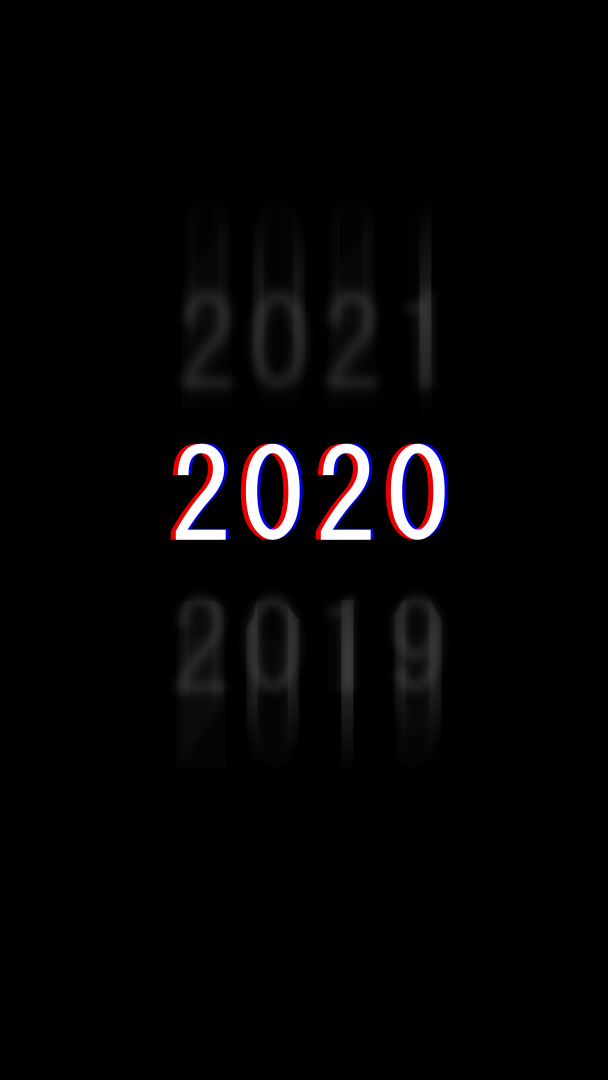 2020 Year iPhone Wallpaper