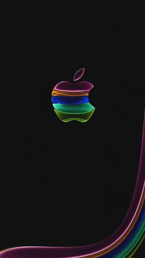 Apple Abstract iPhone Wallpaper