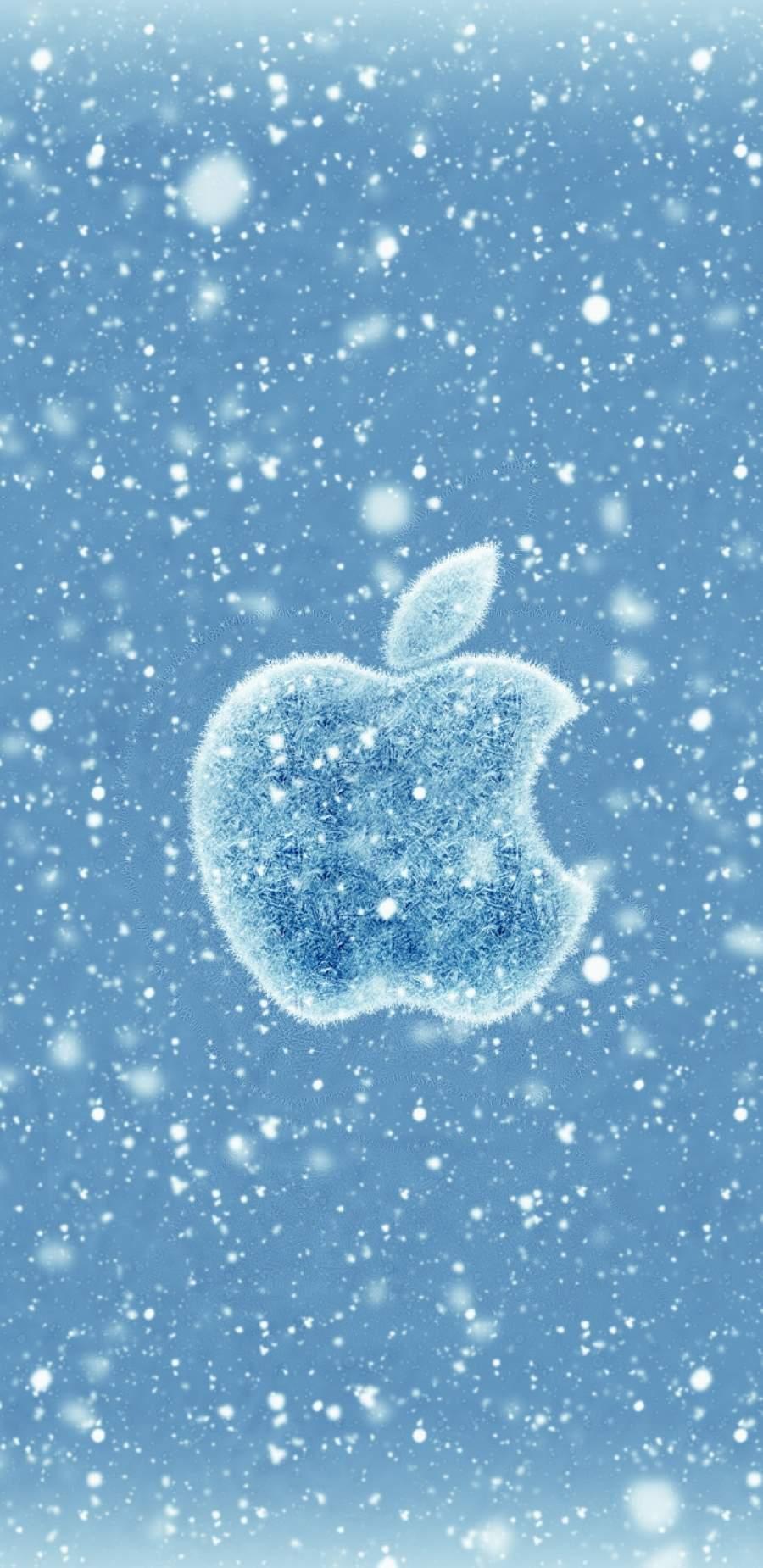 Apple Winter iPhone Wallpaper
