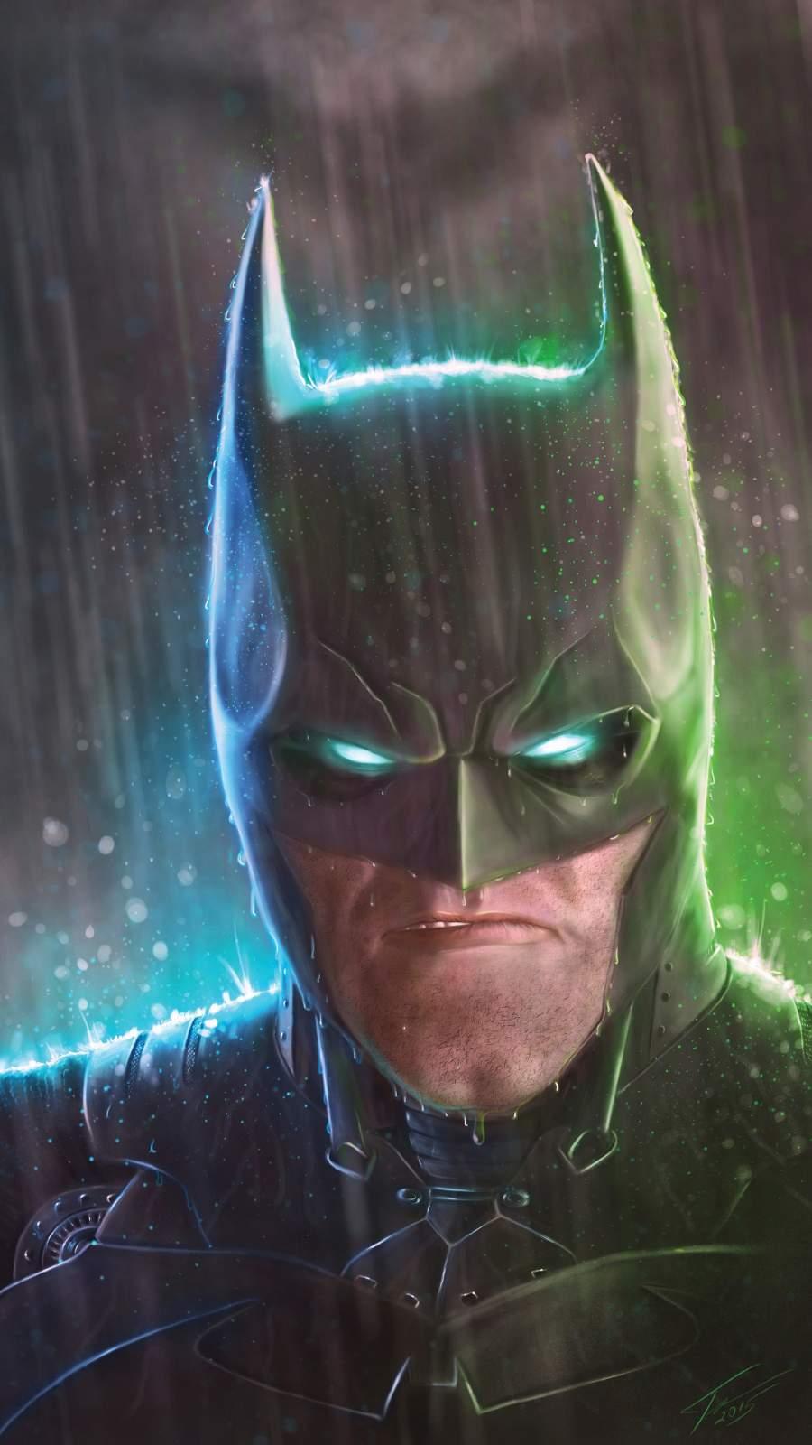 Batman Eyes Glow iPhone Wallpaper