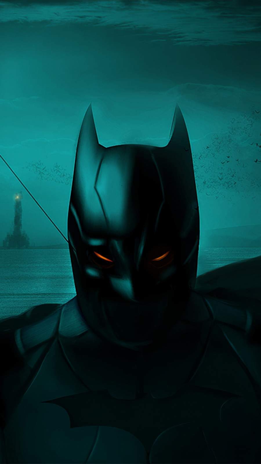 Batman Gotham City iPhone Wallpaper 1
