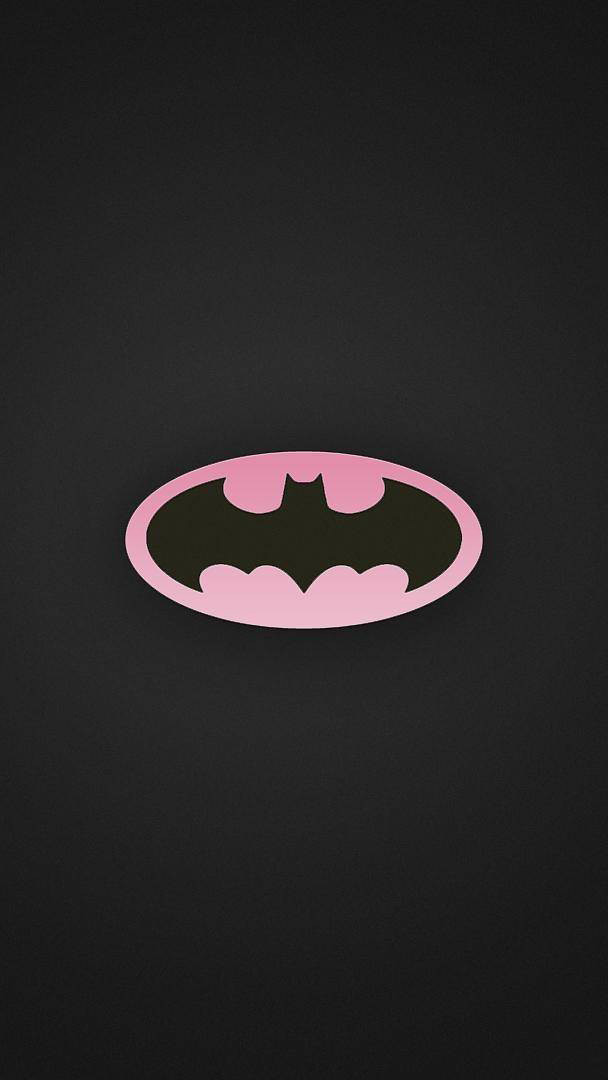 Batman Pink iPhone Wallpaper