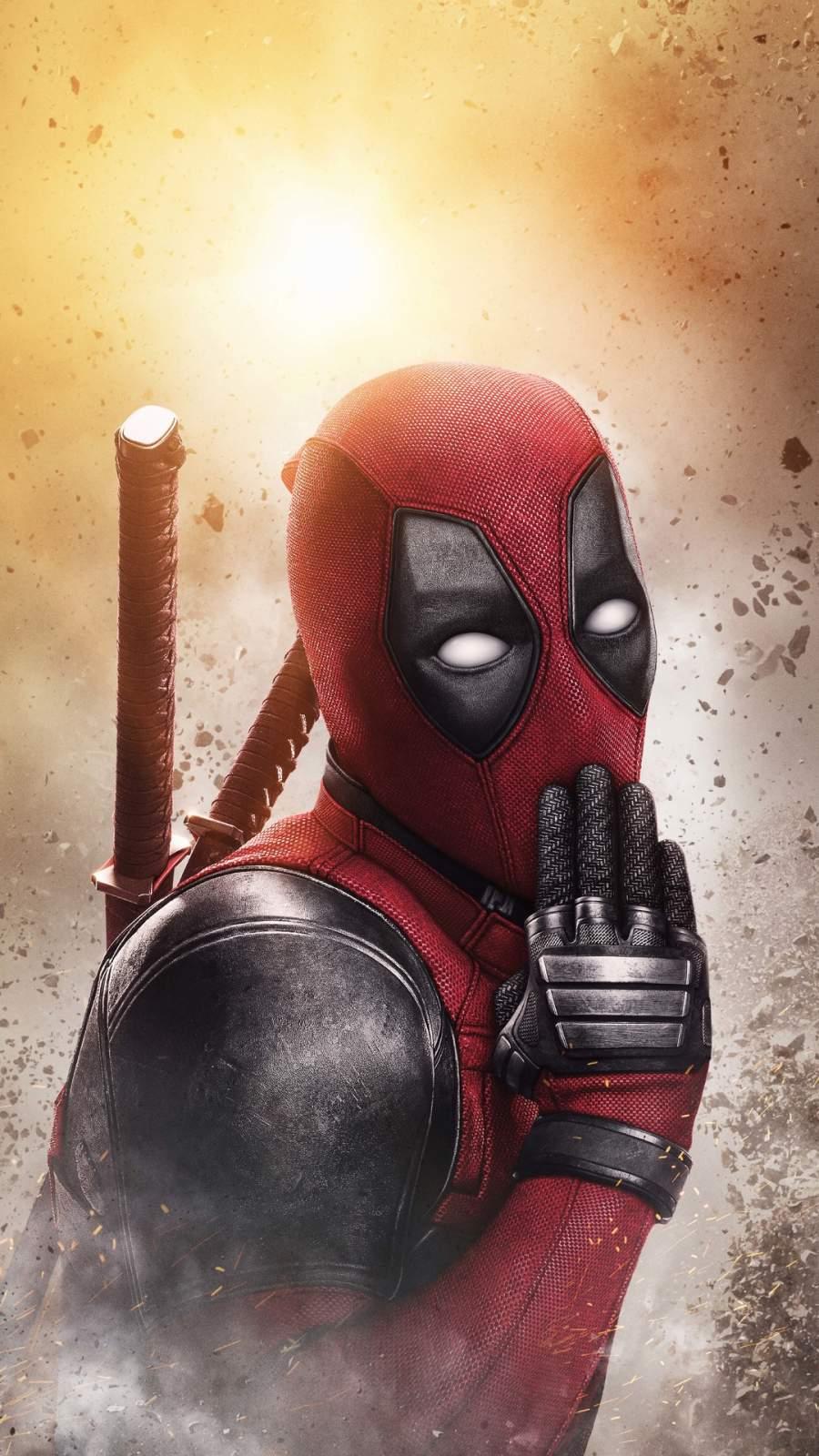 Deadpool 4K iPhone Wallpaper