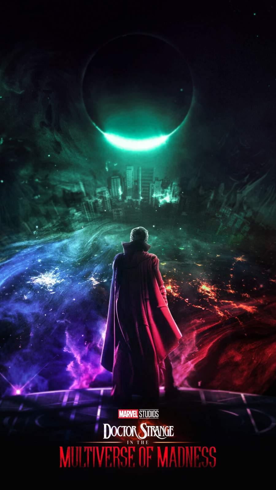 Dr Strange Multiverse iPhone Wallpaper