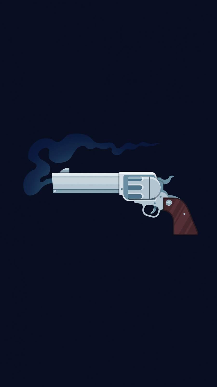 Gun Art 4k iPhone Wallpaper