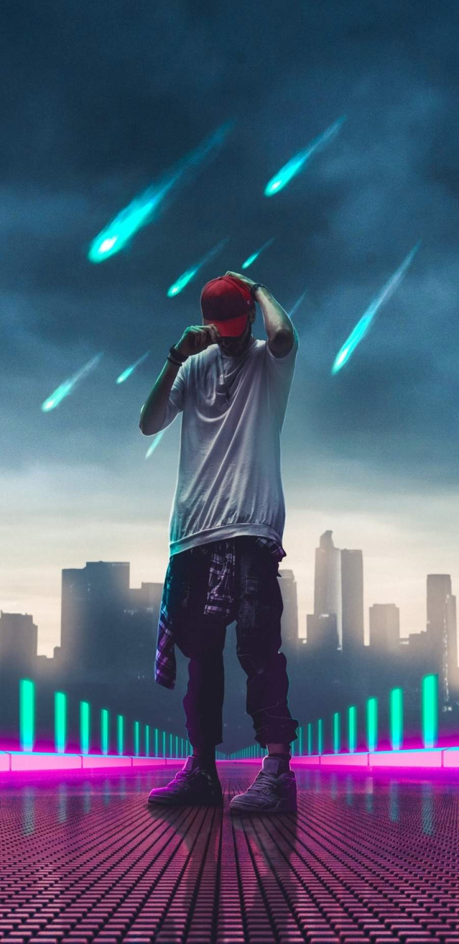 Hat Boy 4K iPhone Wallpaper