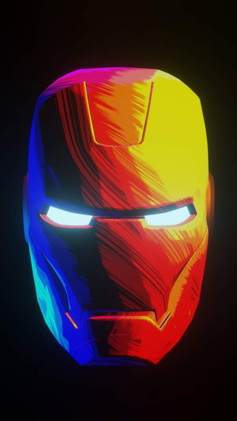 Iron Man Abstract iPhone Wallpaper