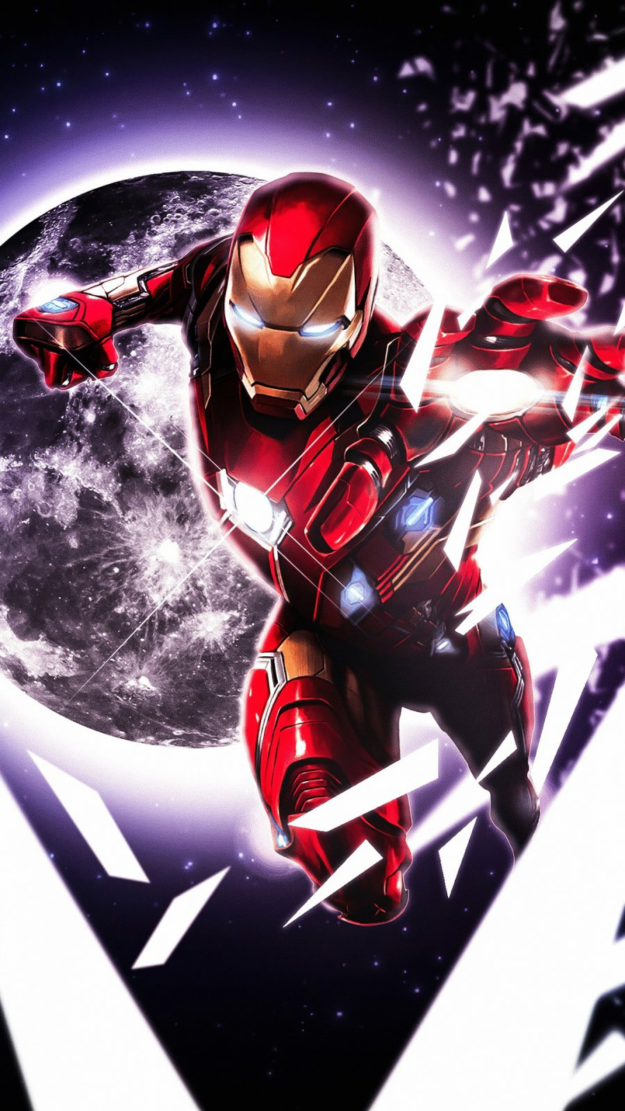 Iron Man Artistic iPhone Wallpaper