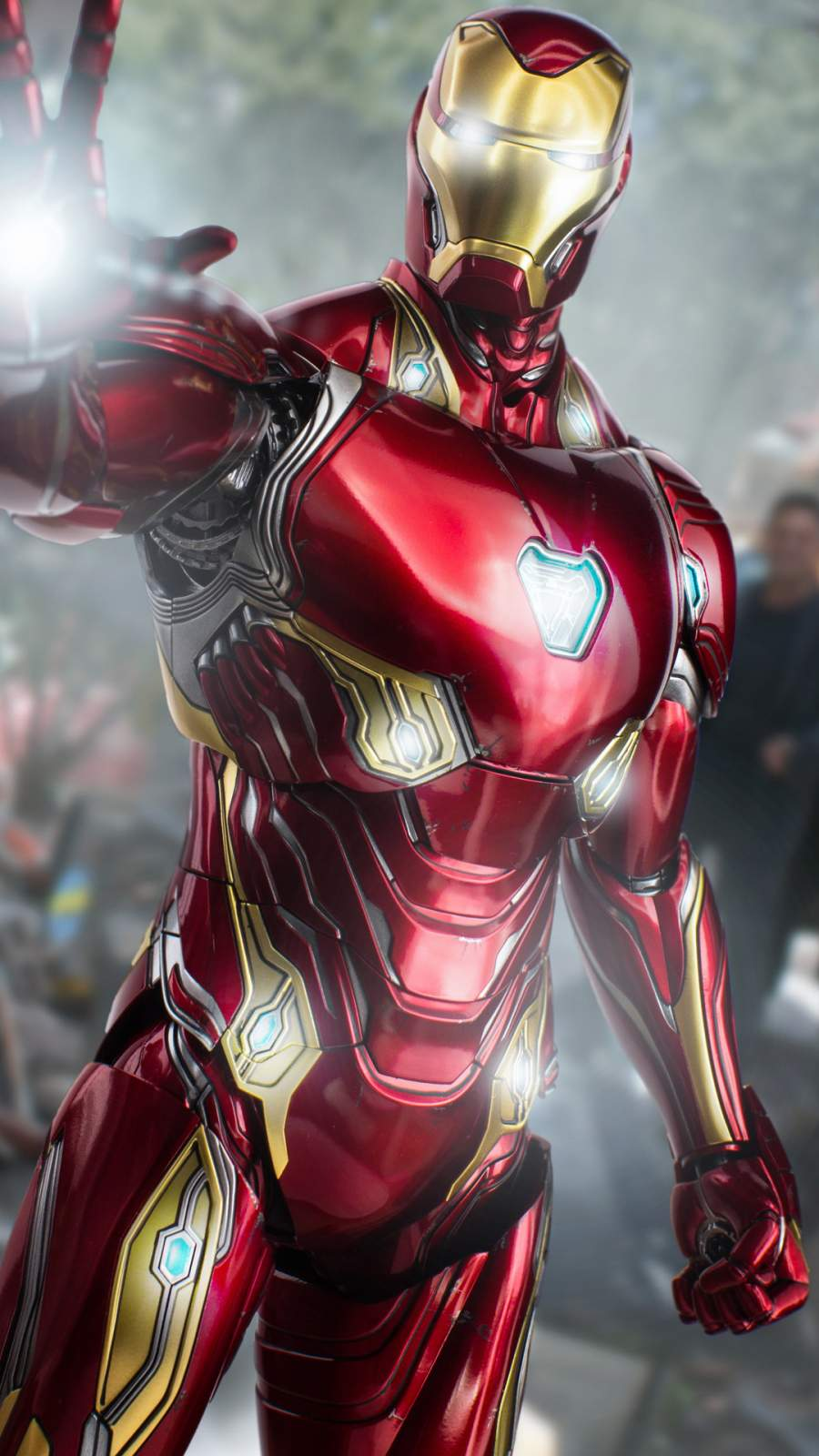 Iron Man Mark 50 4K iPhone Wallpaper