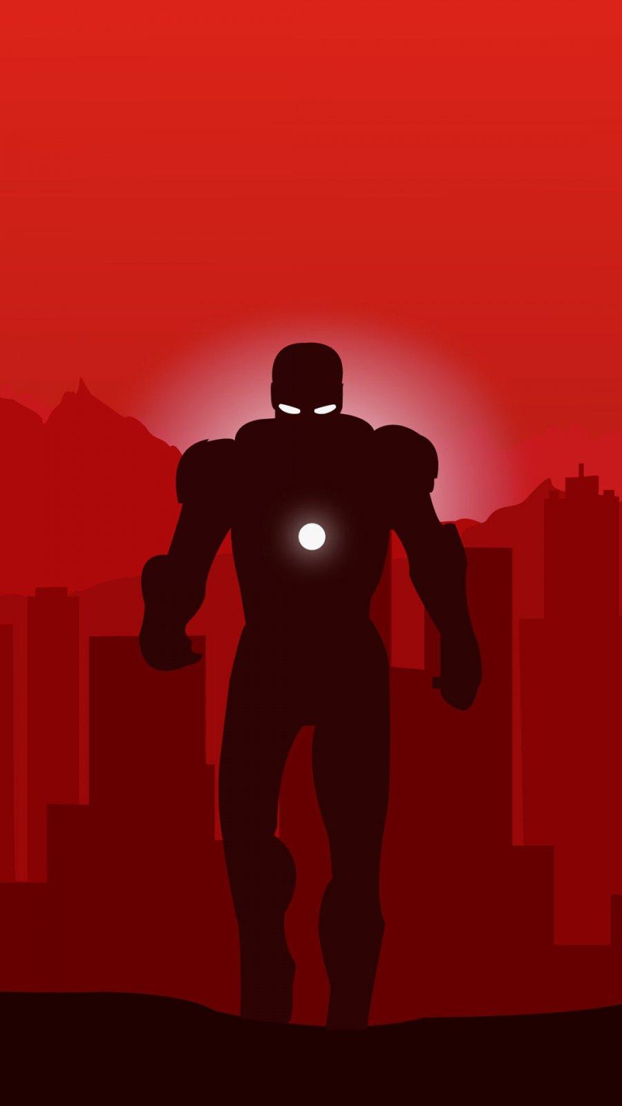 Iron Man Red iPhone Wallpaper