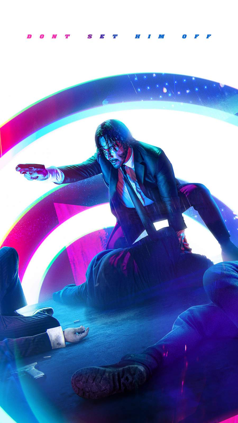 John Wick 4 iPhone Wallpaper