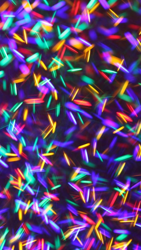 Lights Abstract iPhone Wallpaper
