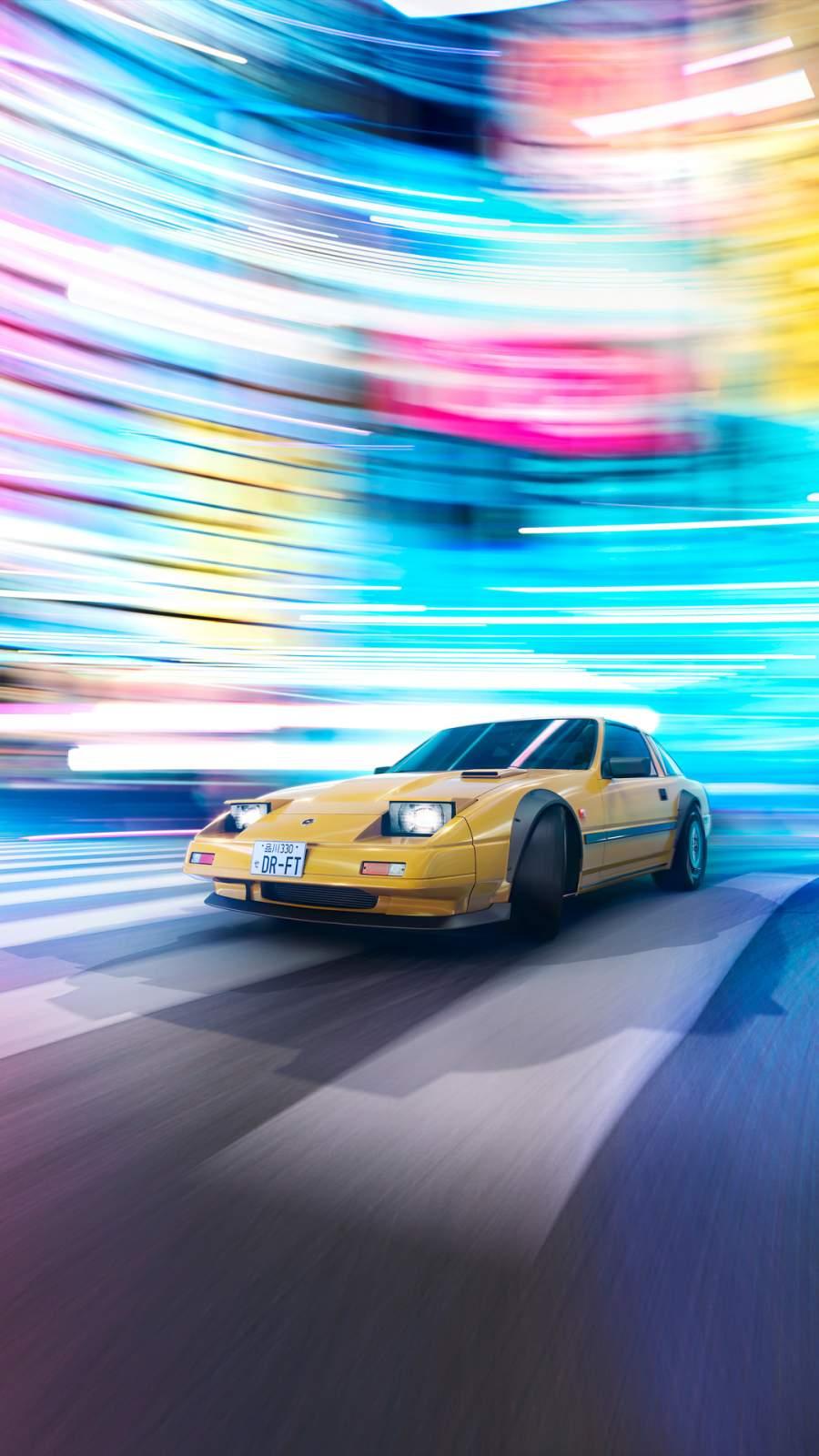 Nissan 300 ZX iPhone Wallpaper