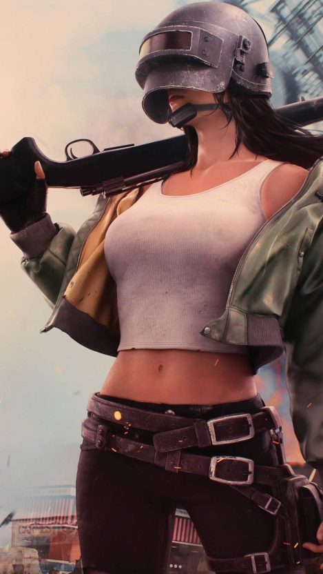 PUBG Girl iPhone Wallpaper