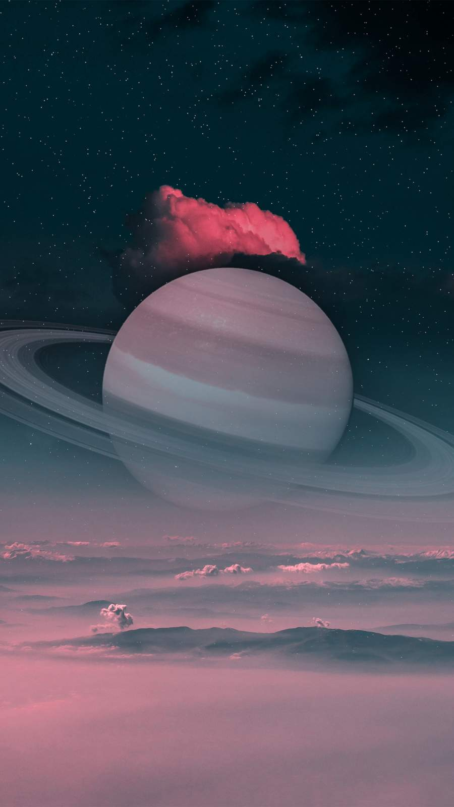 Saturn iPhone Wallpaper