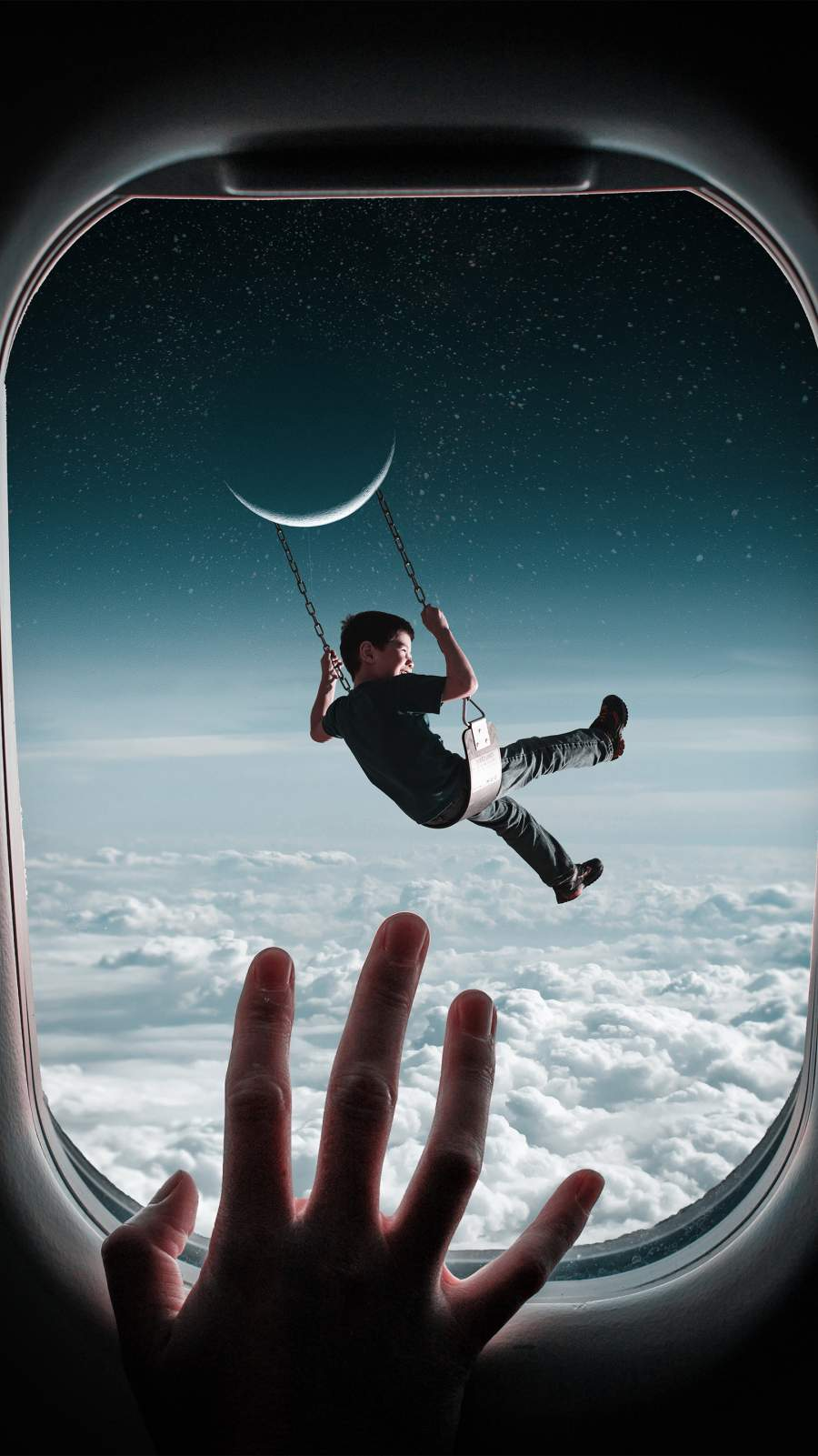 Sky Dreams iPhone Wallpaper