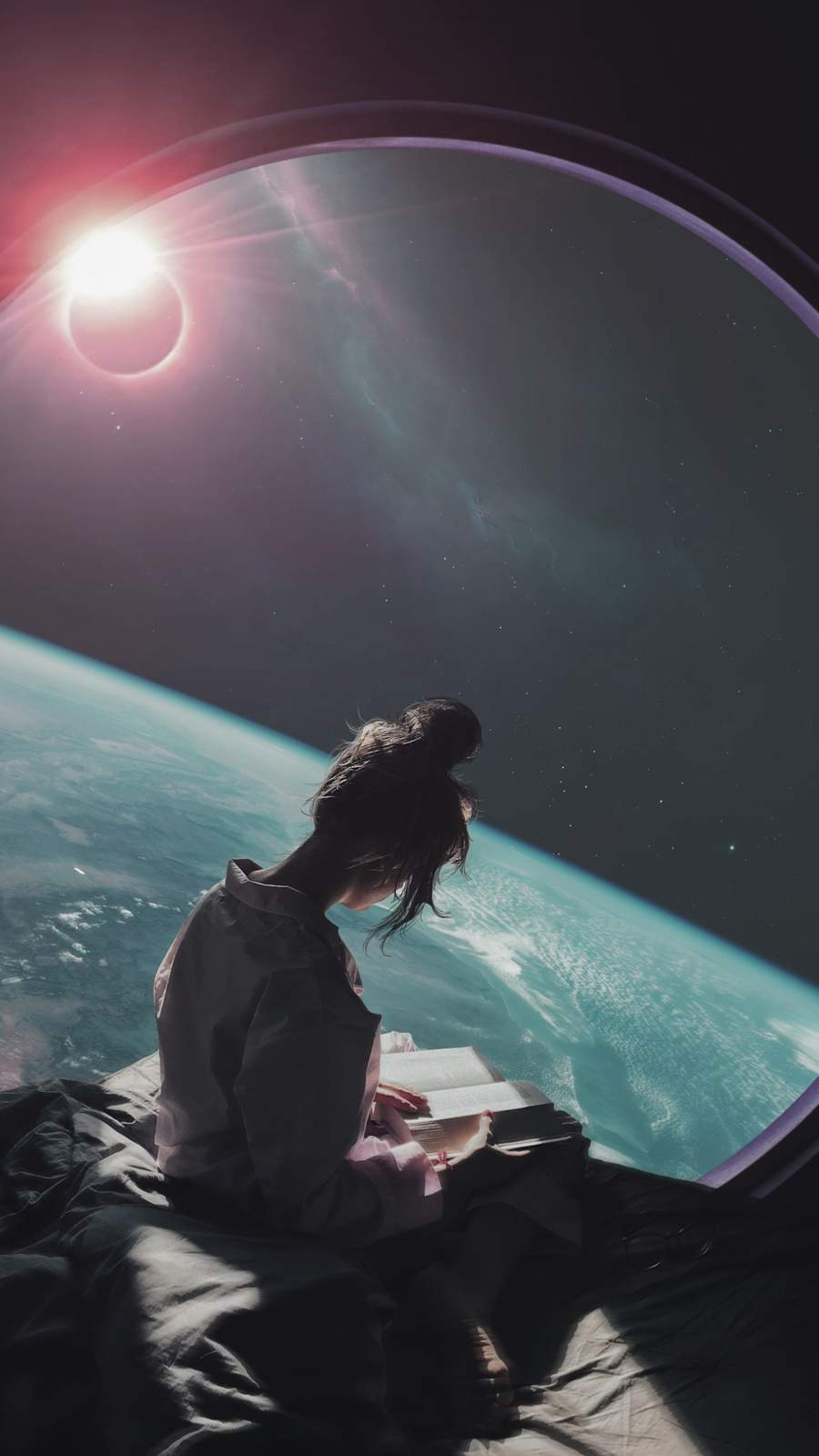 Space Dreams iPhone Wallpaper