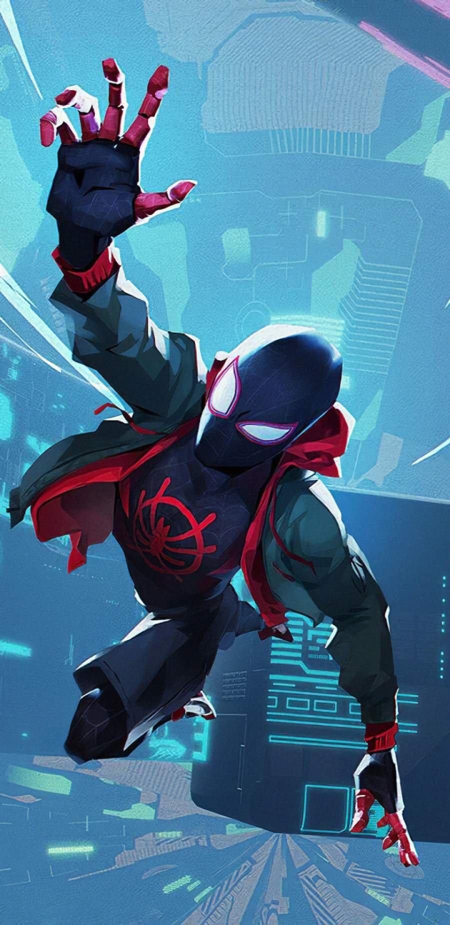 Spiderman Miles iPhone Wallpaper