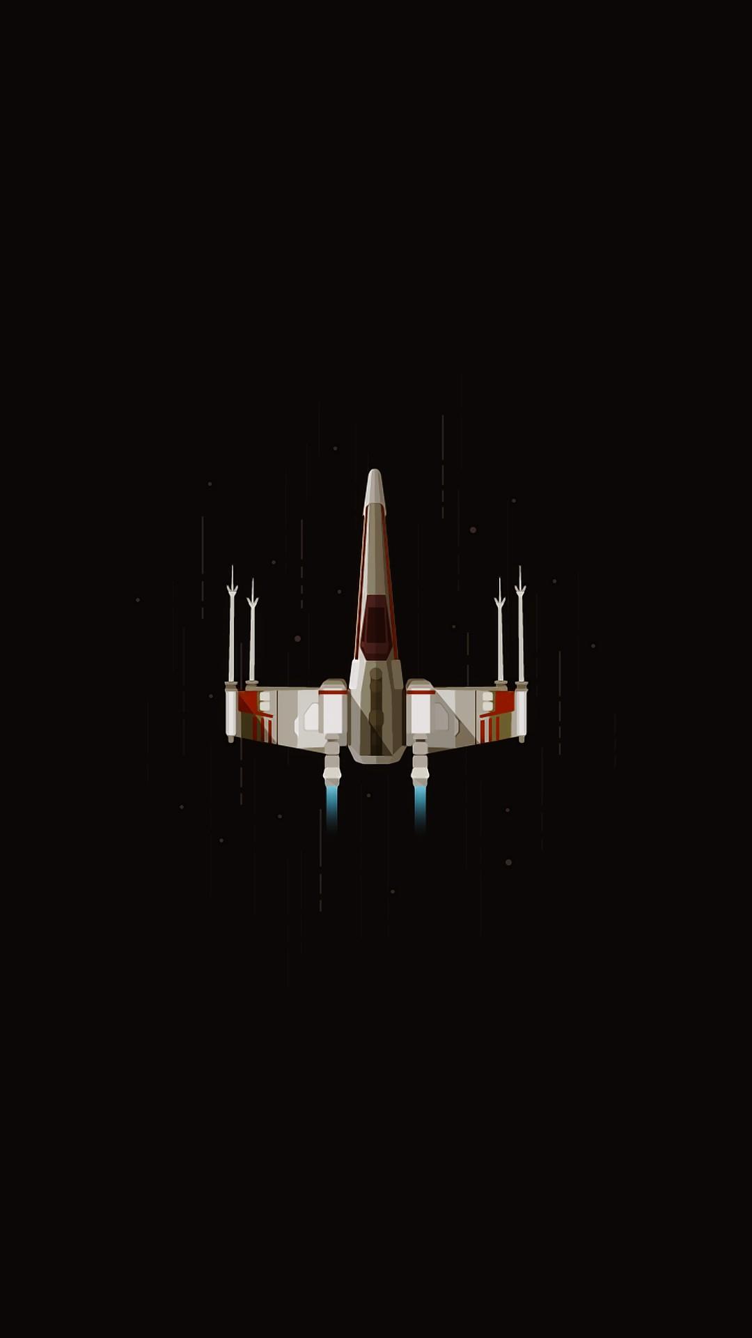 Star Ship iPhone Wallpaper