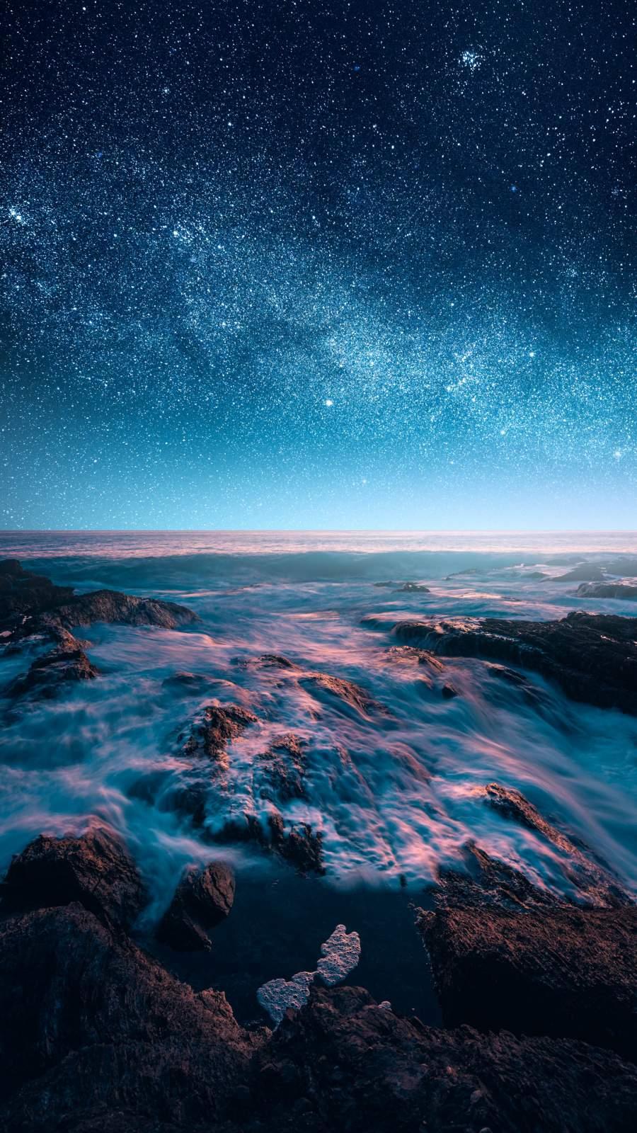 Stardust iPhone Wallpaper