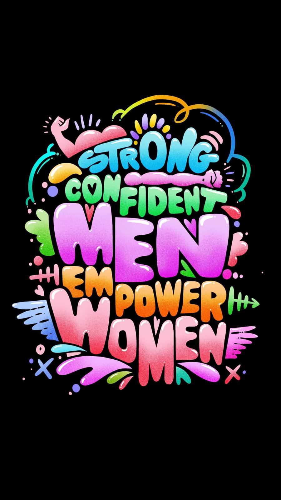 Strong Men iPhone Wallpaper
