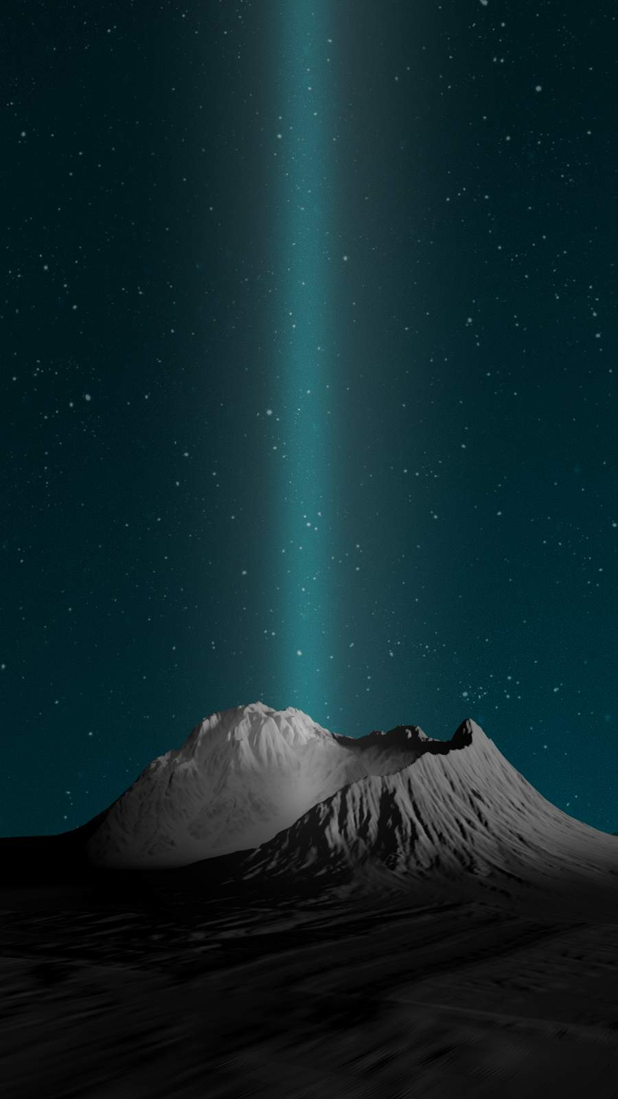 The Crater iPhone Wallpaper