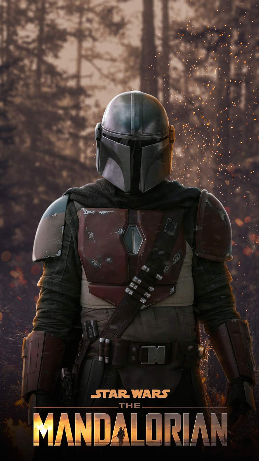 The Mandalorian iPhone Wallpaper