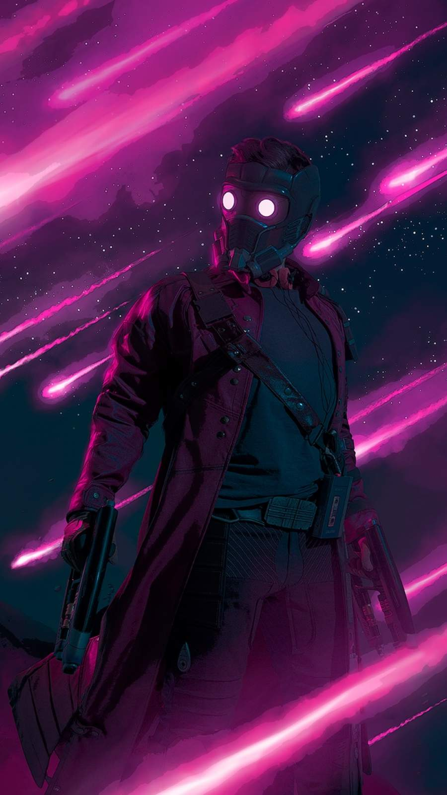 The Starlord iPhone Wallpaper