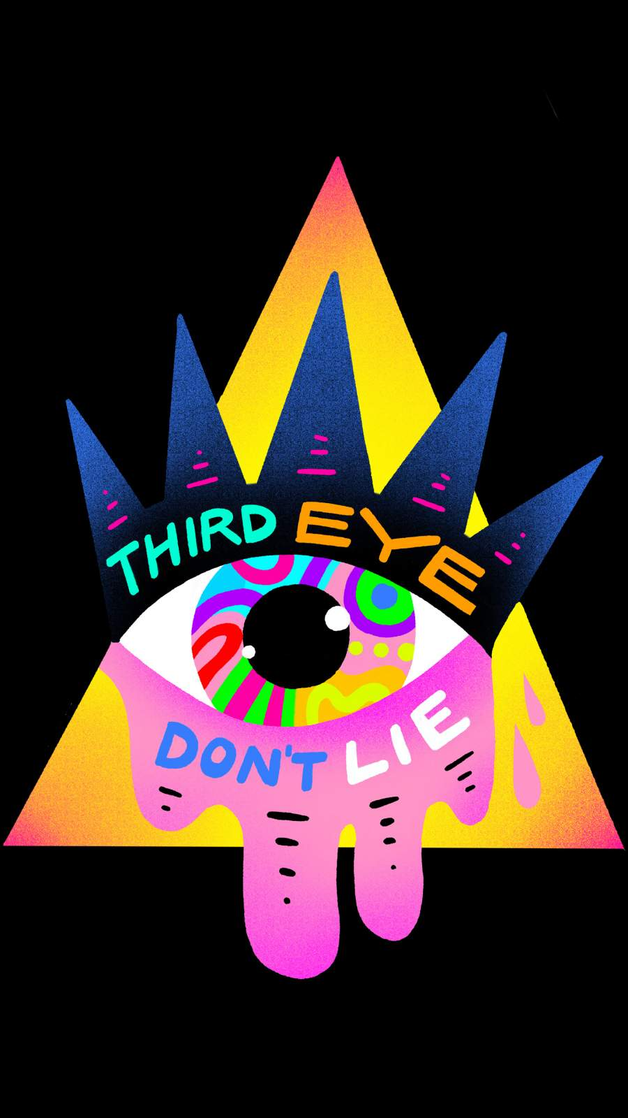 Third Eye Dont Lie iPhone Wallpaper