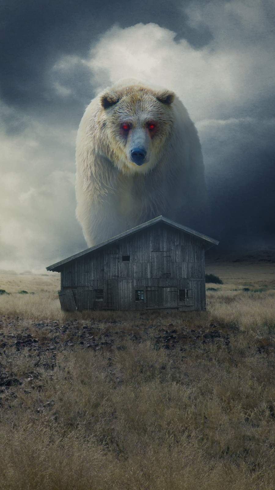 Titan Bear iPhone Wallpaper