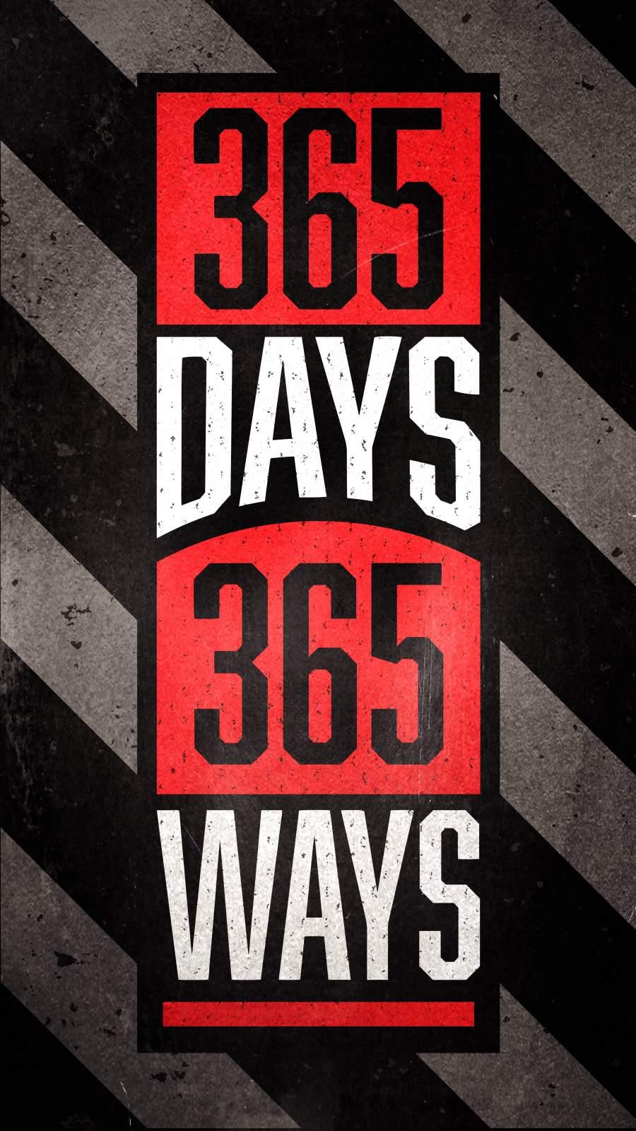 365 Days 365 Ways iPhone Wallpaper